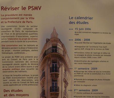 Atelier n°1 sur le PSMV