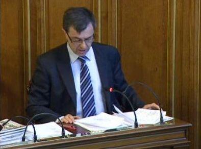 Jean-Pierre Lecoq prend la tête de la contestation contre la nouvelle grille des tarifs des cantines scolaires - Capture d'écran © Paris.fr