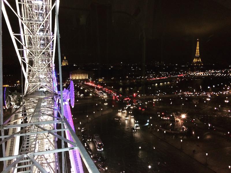 Vue depuis la Grande Roue de Paris © DR sous licence CC.