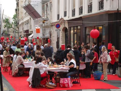 La 8ème édition du pique-nique du faubourg Saint-Germain le 18 juin 2009