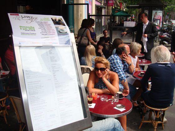 9 cafés-brasseries ont participé à la 5ème édition d'un Livre, un Café