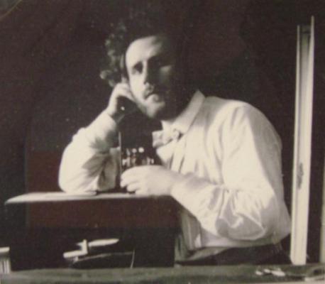 Autoportrait de Volochine, photo de Volochine, Paris 1905. Photographie, coll, V.P Kouptchenko