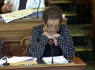(c) Conseil de Paris : Lyne Cohen-Solal lors du Conseil de Paris le 6 juillet