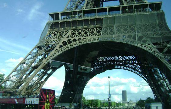 (c) MdlM - La vue sur l'Ecole Militaire depuis la Tour Eiffel