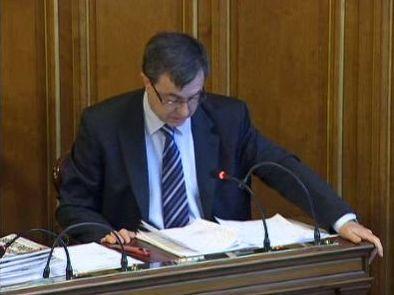 (c) Conseil de Paris le 11 mai - Jean-Pierre Lecoq défend le rôle des présidents de caisse des écoles