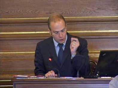 (c) Conseil de Paris le 11 mai - Romain Lévy dénonce les arguments de l'opposition municipale