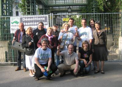 1er arrondissement Les membres de l'association Accomplir