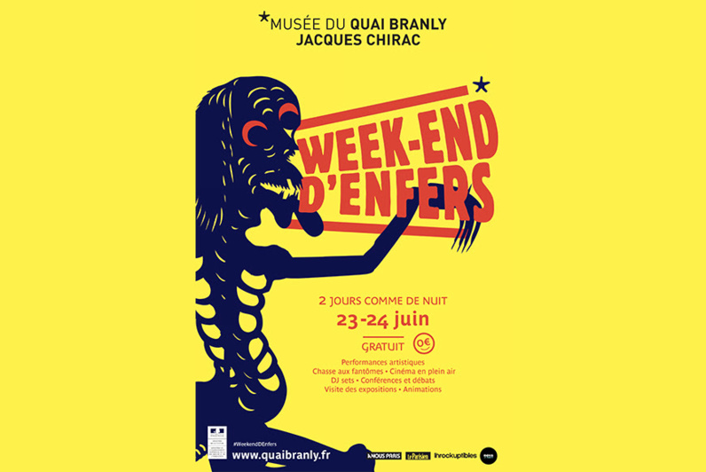 Musée du Quai Branly : deux jours et deux nuits de visite gratuite autour de l'enfer