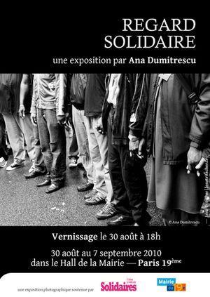 (c) Regard solidaire, une exposition d'Ana Dumitrescu