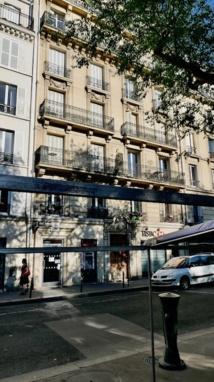 Suicide rue Boulard un jour de marché à Paris © VD/PT