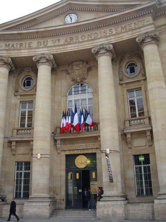 La mairie du 5ème arrondissement de Paris