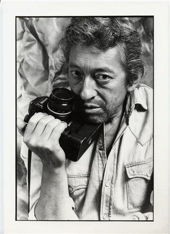 (c) Pierre Terrasson : Gainsbourg au Nikon (1984)