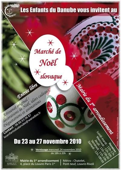 Marché de Noël slovaque à Paris