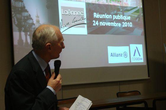 Alain Robert représente la Cogedim