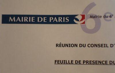 Conseil du 6e arrondissement de Paris