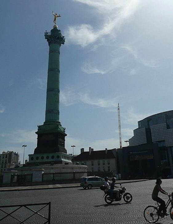 Place de la Bastille.
