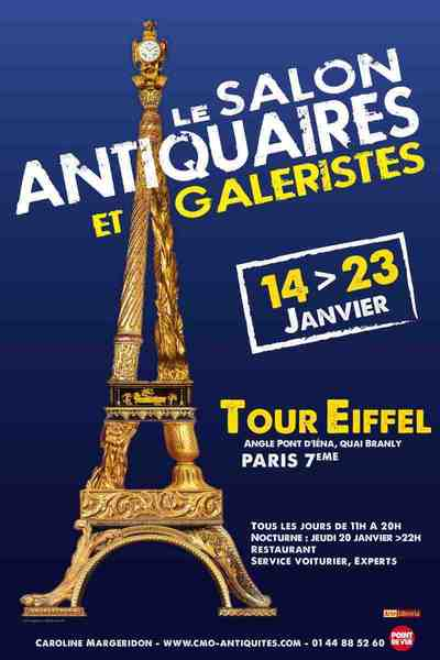14 - 23 janvier 2011 : Salon des Antiquaires et galeristes de la Tour Eiffel