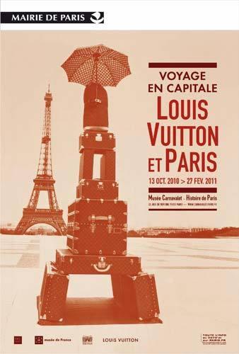 (c) Exposition Voyage en capitale, Louis Vuitton et Paris