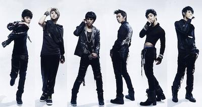 (c) Le boysband Beast, groupe de musique Kpop
