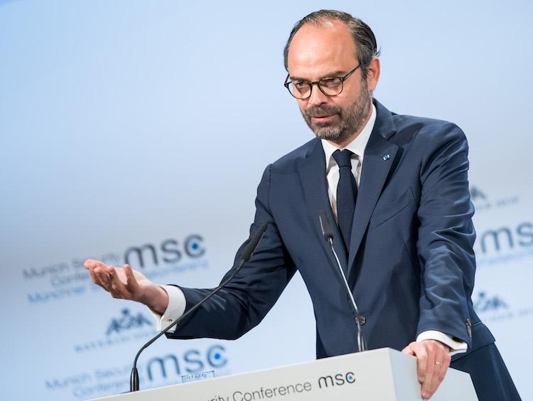 Edouard Philippe à la conférence de Munich sur la sécurité 2018, le 17 février 2018 © MSC Mueller CC BY-SA 3.0 de