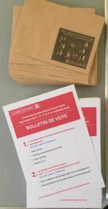 Bulletin de vote consultatif © VD/PT.