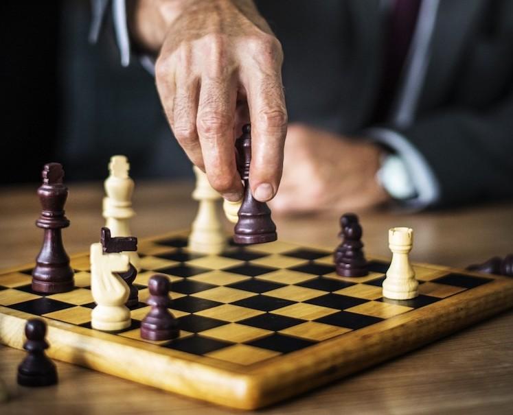 Partie d'échecs depuis 2001 dans le 1er arrondissement de Paris.