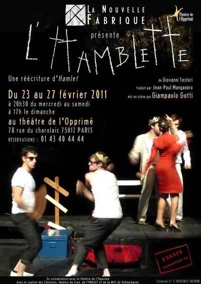 23 - 27 février 2011 : L'Hamblette de Giovanni Testori