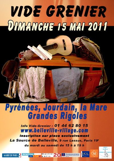 15 mai 2011 : Vide-Grenier Belleville-Jourdain-Pyrénées