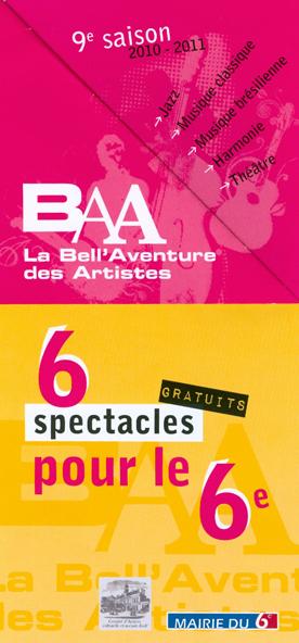 12 mars 2011 : Feydeau à la Bell' Aventure des Artistes