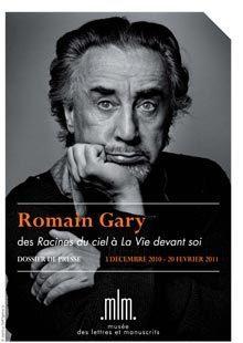 Jusqu'au 3 avril 2011 : Exposition Romain Gary