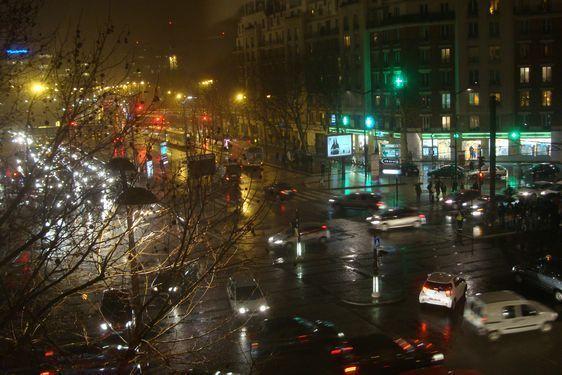 L'angle du boulevard Brune et de la place du 25 août 1944 dans le 14e arrondissement.