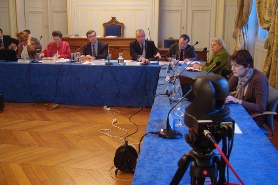 Le conseil d'arrondissement du 15 mars 2011, retransmis en direct sur internet depuis le conseil d'arrondissement du 25 janvier 2011.