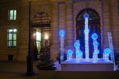 Mairie du 4e arrondissement de Paris, janvier 2011.