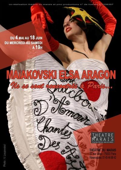 Du 4 mai au 18 juin 2011 : Maïakovski Elsa Aragon, ils se sont rencontrés