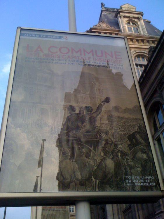 Exposition La Commune,1871, Paris capitale insurgée jusqu'au 28 mai 2011 - Photo : Louise Wessier.
