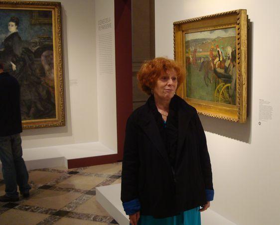 Isabelle Julia, commissaire de l'exposition et conservatrice au Musée d'Orsay - Photo : Louise Wessier.