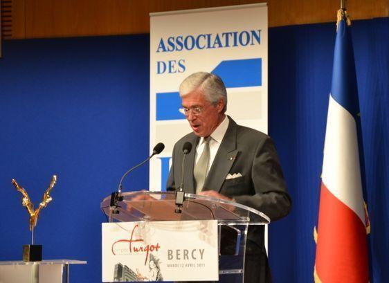 Jean-Louis Chambon, président du Prix Turgot - Bercy le 12 avril 2011 - Photo : Christian Durandy van den Daele.
