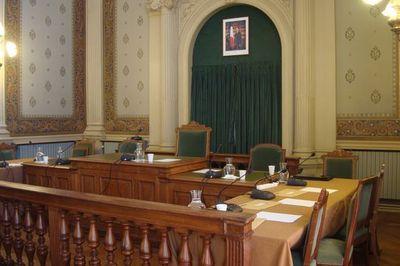 Salle du conseil d'arrondissement de la mairie du 1er arrondissement