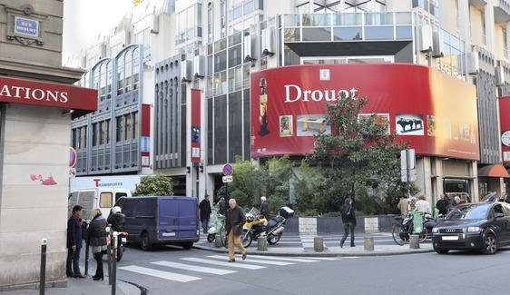 Hôtel des ventes Drouot - Photo : Stan sniper-press.com