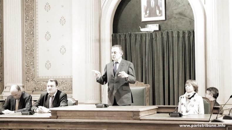 Jean-François Legaret ne réunit pas le conseil du 1er arrondissement le jour J © VD/PT
