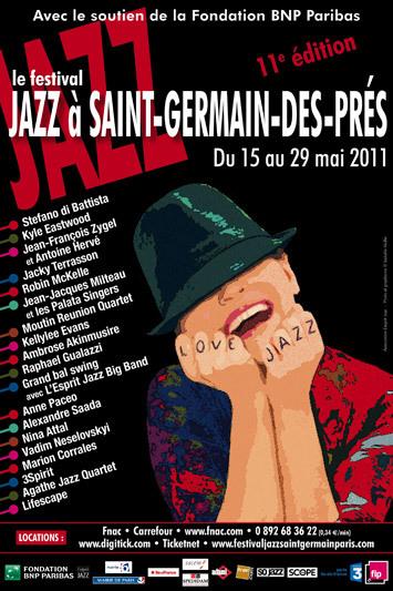 © Festival jazz st germain des près.