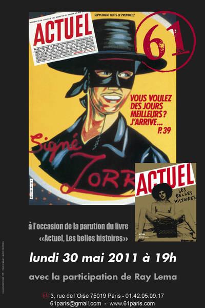"""30 mai 2011 : la fête des """"Belles Histoires"""" du magazine Actuel"""