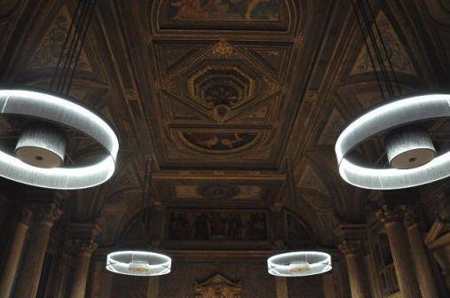 Le Foyer historique de La Gaîté Lyrique après sa rénovation, vu par l'artiste Matt Pyke © Matt Pyke.