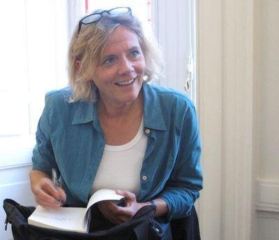 Florence Aubenas - Photo : Julie Hammett.