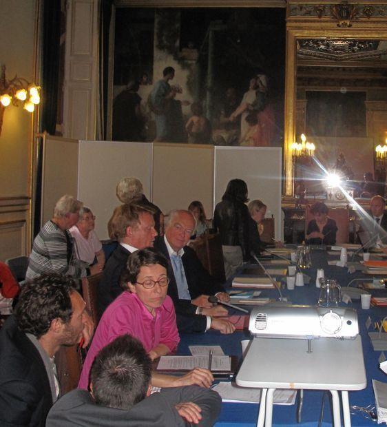 Laurence Girard, l'une des deux élues de l'opposition d'arrondissement - Photo : Julie Hammett.