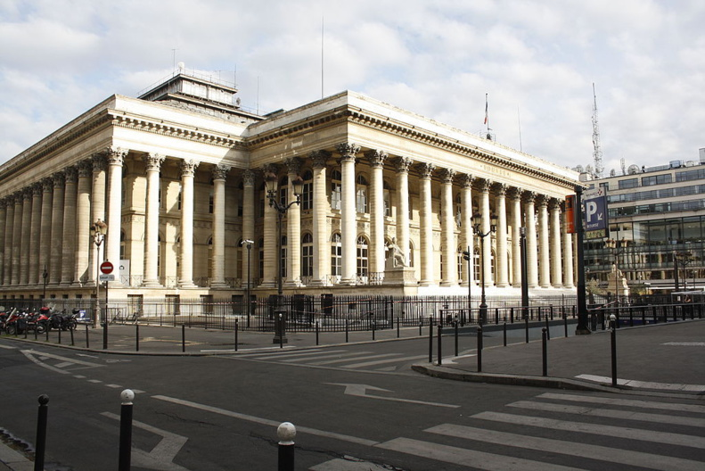 Old stock exchange in Paris, 2nd arrondissement © Peazapata CC-BY SA 4.0