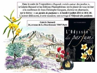 LUNDI 4 JUILLET 2011 à 18h30 -GALERIE BANSARD - PARIS 7ème