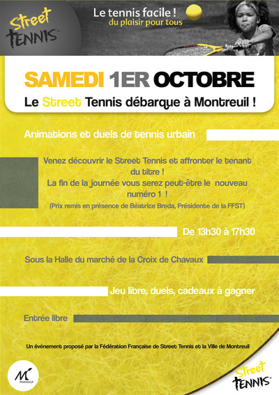 1er octobre 2011 : Duels de Street Tennis