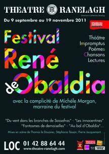 DU 9 SEPTEMBRE AU 19 NOVEMBRE 2011 : FESTIVAL RENE DE OBALDIA