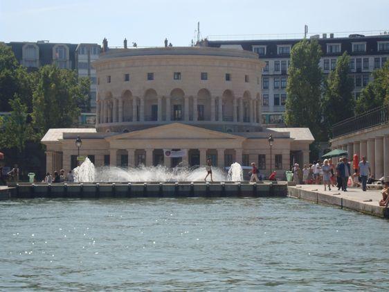 Bassin de la Villette - Photo : VD.